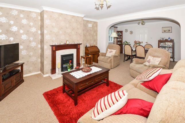 Thumbnail Detached bungalow for sale in Yaxley Close, Thurnby, Leicester