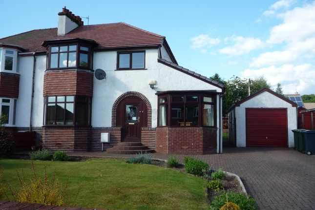 Thumbnail Semi-detached house to rent in Waverley Avenue, Helensburgh
