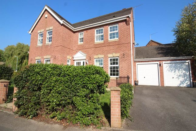 Thumbnail Detached house to rent in The Nurseries, Langstone, Newport