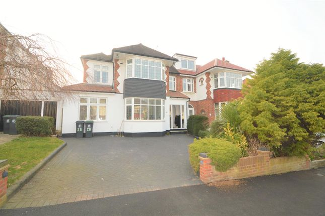 Thumbnail Semi-detached house to rent in Fontayne Avenue, Chigwell