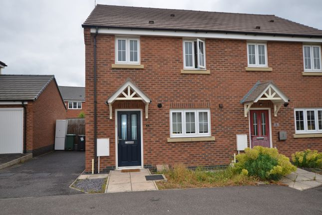 Thumbnail Semi-detached house to rent in Oban Drive, Peterborough
