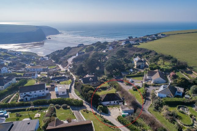 Thumbnail Detached bungalow for sale in Trenance, Mawgan Porth