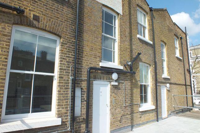 External of Wolsey Mews, Kentish Town, London NW5