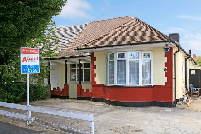 Thumbnail Semi-detached bungalow for sale in Heather Gardens, Rise Park, Romford