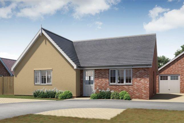 Thumbnail Detached bungalow for sale in Plot 19 Springfield Meadows, Little Clacton, Essex