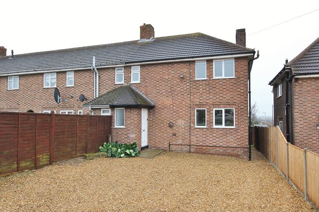 Thumbnail End terrace house for sale in Potton Road, Eynesbury, St. Neots
