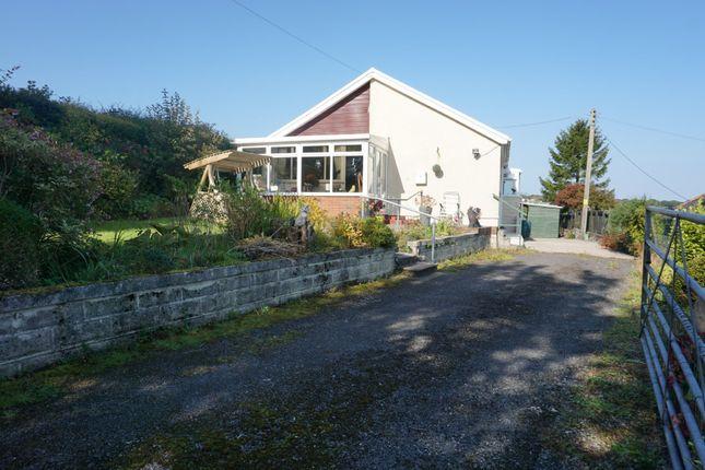 Thumbnail Detached bungalow for sale in Pentwyn, Cross Hands, Llanelli