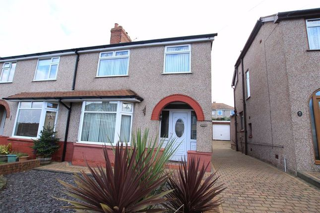 Thumbnail Semi-detached house for sale in Third Avenue, Flint, Flintshire