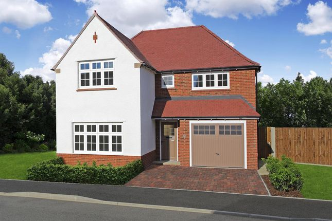 Thumbnail Detached house for sale in Scholars' Walk, Off Baggallay Street, Hereford, Herefordshire