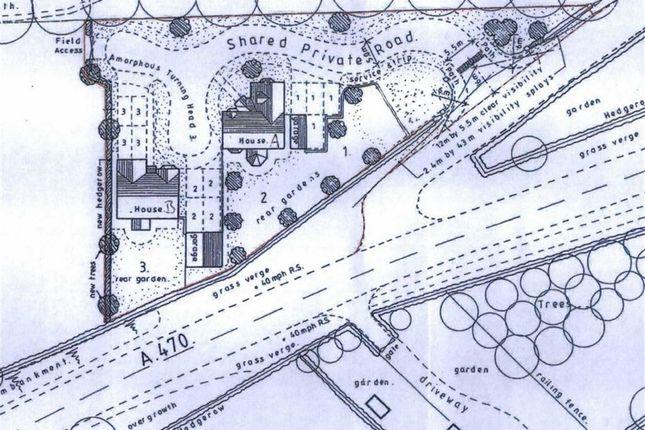 Thumbnail Land for sale in Pontdolgoch, Caersws
