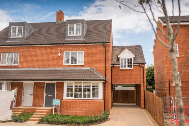 Thumbnail Semi-detached house for sale in Simmons Way, Lane End