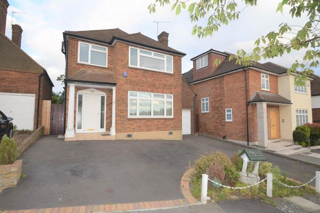 Thumbnail Detached house to rent in The Reddings, Mill Hill