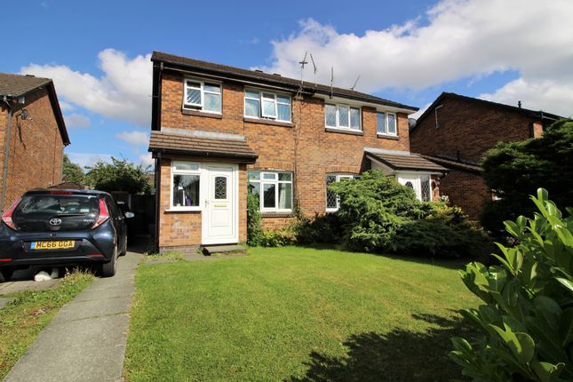 Thumbnail Semi-detached house for sale in Larchway, Shirebrook Park, Glossop