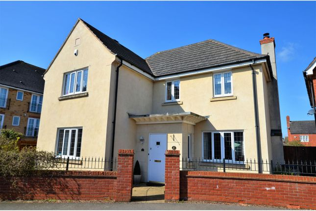 Thumbnail Detached house for sale in Berrywood Drive, Northampton