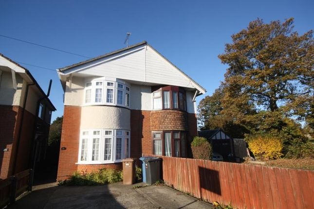 Thumbnail Semi-detached house to rent in Norwich Road, Ipswich, Suffolk