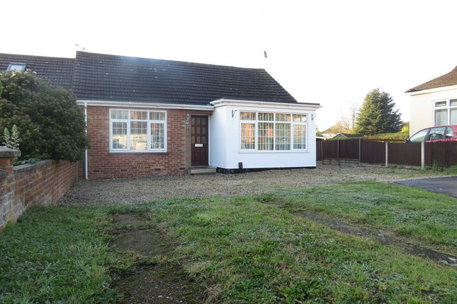 Thumbnail Semi-detached bungalow for sale in Everson Close, New Costessey, Norwich
