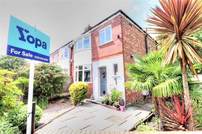 Thumbnail Semi-detached house for sale in Patterson Avenue, Chorlton Cum Hardy, Manchester