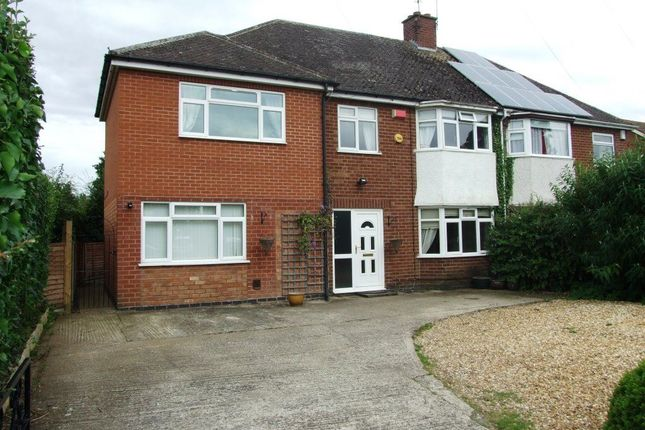 Thumbnail Town house to rent in Alwyn Road, Bilton, Rugby