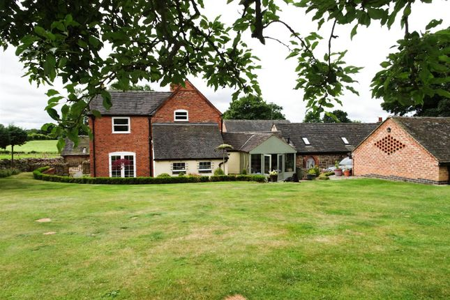 Thumbnail Farmhouse for sale in Moor Road, Morley, Ilkeston
