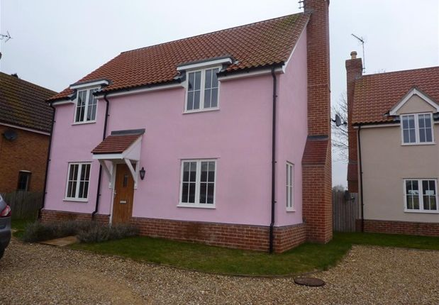 Thumbnail Detached house to rent in The Street, Icklingham, Bury St. Edmunds
