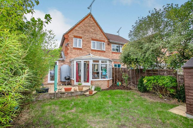 Thumbnail Semi-detached house for sale in Wantage Close, Maidenbower, Crawley