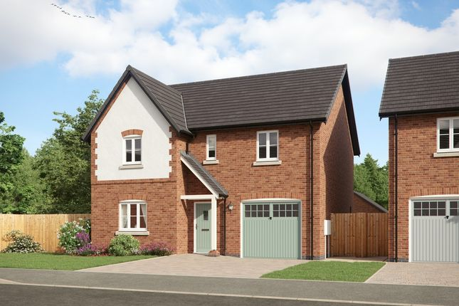 Thumbnail Detached house for sale in Clays Lane, Staffordshire, Burton Upon Trent