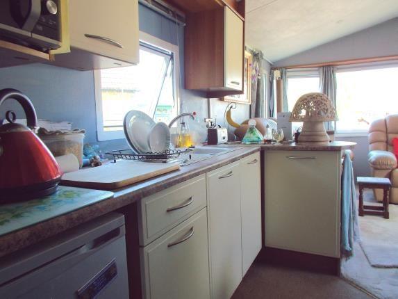 Kitchen of Wayside Caravan Park, Way Hill, Minster, Kent CT12