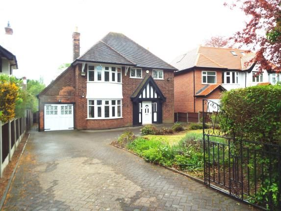 Thumbnail Detached house for sale in Wollaton Hall Drive, Nottingham, Nottinghamshire