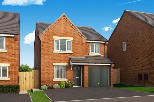"Thumbnail Property for sale in ""The Rowingham At Lyndon Park"" at Harwood Lane, Great Harwood, Blackburn"