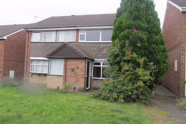 Thumbnail Semi-detached house to rent in Greenfields Drive, Rugeley