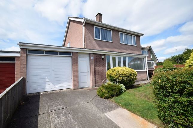 Thumbnail Detached house to rent in Liddle Close, Lowry Hill, Carlisle