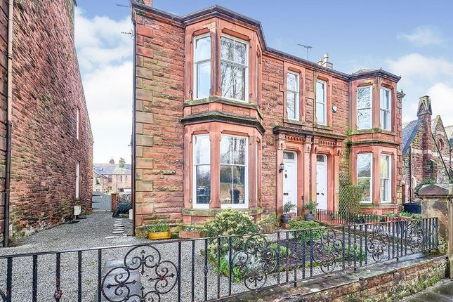 Thumbnail Semi-detached house to rent in Lovers Walk, Dumfries