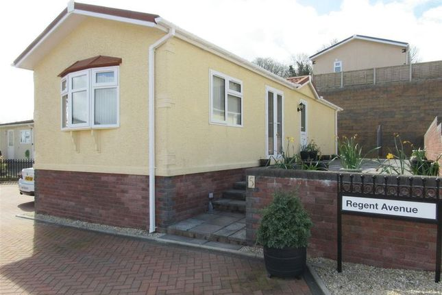 Thumbnail Mobile/park home for sale in Regent Avenue, Cambrian Residential Park, Cardiff