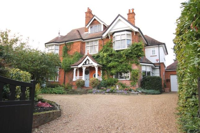 Thumbnail Detached house to rent in Church Road, Horsell, Surrey