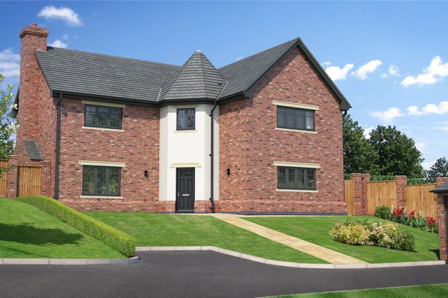 Thumbnail Detached house for sale in Plot 8 Hunters Chase, Bryn Perthi, Arddleen, Powys