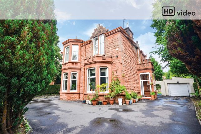 Thumbnail 7 bedroom detached house for sale in Terregles Avenue, Pollokshields, Glasgow