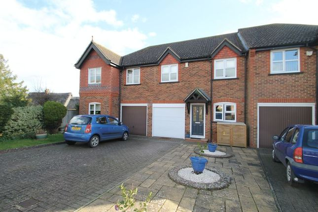 Thumbnail Terraced house to rent in Lords Mead, Eaton Bray, Bedfordshire