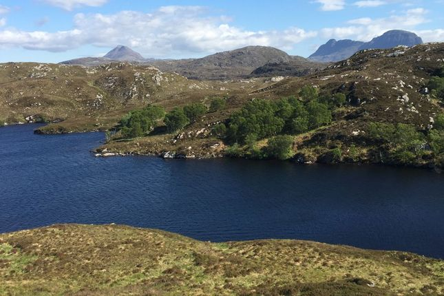 Thumbnail Detached house for sale in Fearna Lodge Estate, Lochinver, Sutherland
