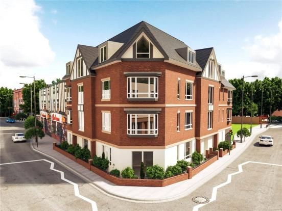 Thumbnail Flat for sale in Kings Oak Development, 356 High Street, Harborne