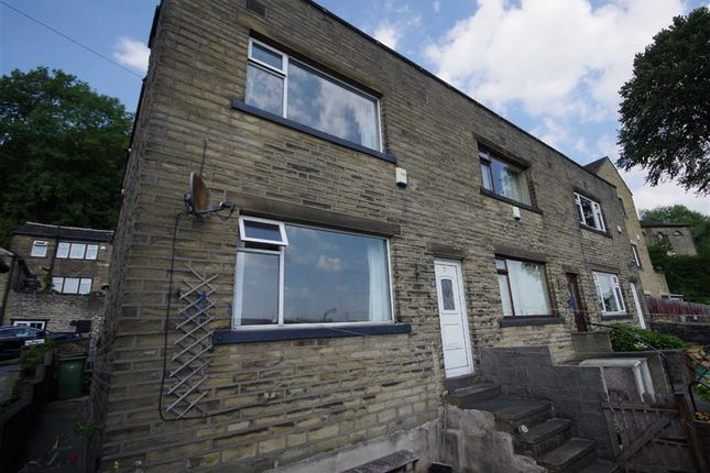 Thumbnail End terrace house for sale in Park Grove, Stump Cross, Halifax