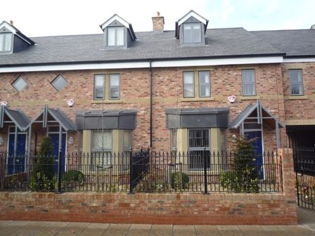 Thumbnail Town house to rent in Norham Place, Jesmond, Newcastle, Tyne And Wear