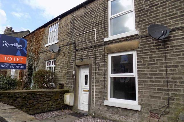 2 bed terraced house to rent in Macclesfield Road, Whaley Bridge, High Peak