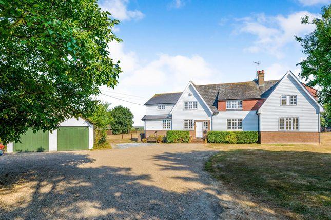 Thumbnail Detached house for sale in Woodrolfe Farm Lane, Tollesbury, Maldon