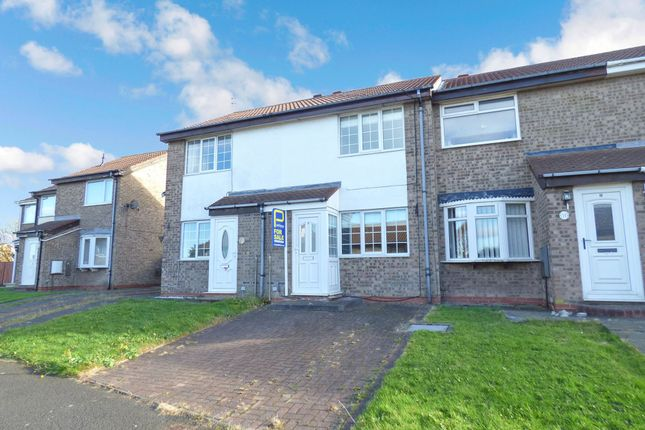 Thumbnail Terraced house for sale in Stirling Drive, Bedlington
