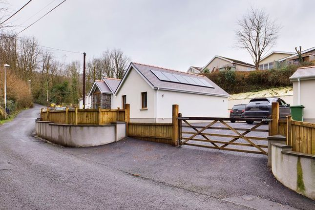 3 bed detached bungalow for sale in Reservoir Road, Carmarthen SA31