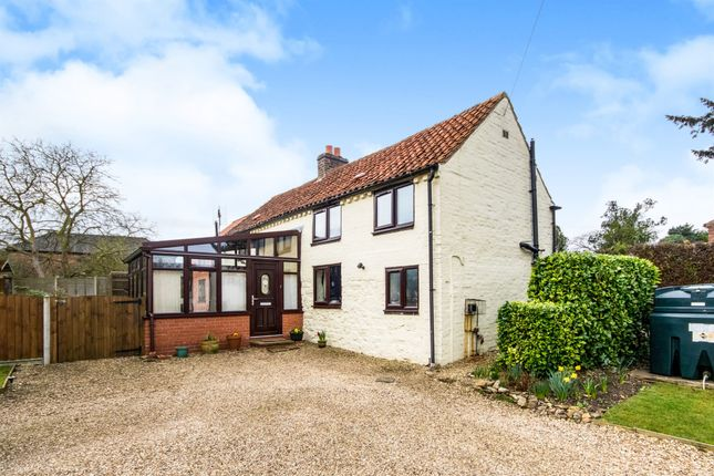 Thumbnail Detached house for sale in Donington Road, Horbling, Sleaford