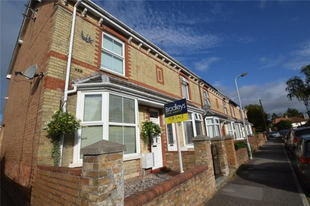 Thumbnail End terrace house for sale in Rosebery Street, Taunton, Somerset