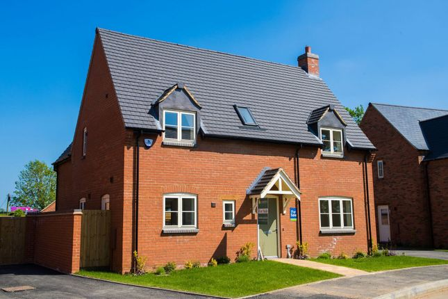 Thumbnail Detached house for sale in Nursery Close, West Haddon, Northampton