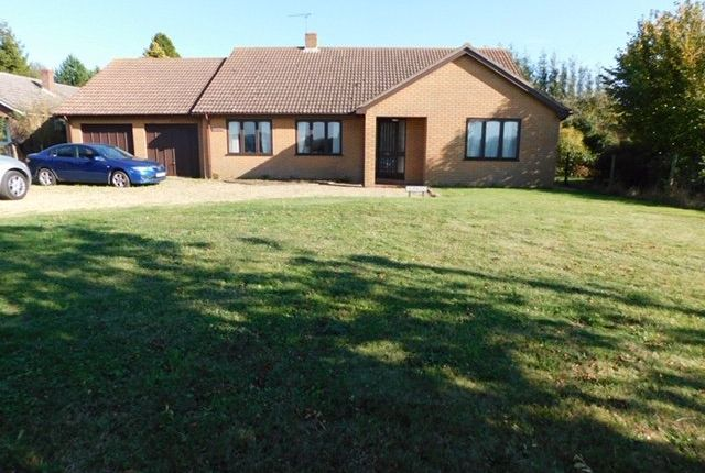 Thumbnail Detached bungalow for sale in Station Road, Cotton, Stowmarket