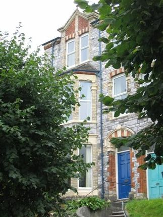 Thumbnail Town house to rent in Houndiscombe Road, Mutley, Plymouth